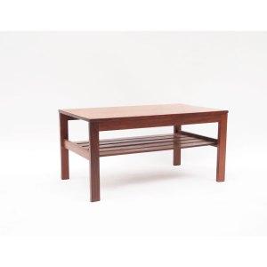 Petite table basse scandinave, double plateau