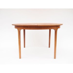 Table de salle à manger ronde, scandinave vintage, McIntosh