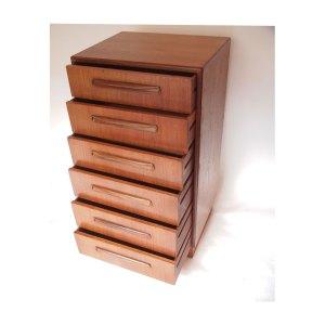 Commode Gplan, 6 tiroirs, vintage scandinave