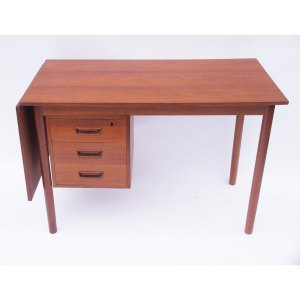 Bureau scandinave danois vintage, extension