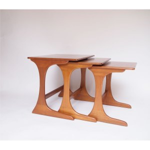 Tables gigognes scandinave vintage #18