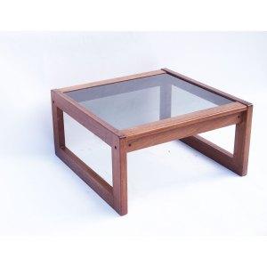 Table basse carrée scandinave vintage