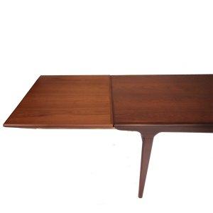 Table Johannes Andersen pour Uldum, scandinave danoise vintage 1960