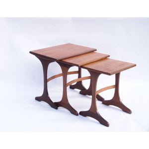 Tables gigognes vintage scandinave Gplan #2