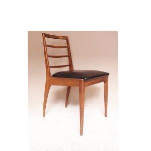 Chaise vintage scandinave dossier haut