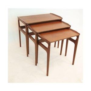 Tables gigognes scandinave danoises vintage #302