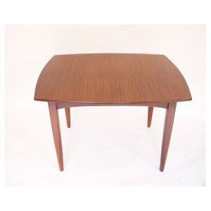 Petite table de salle à manger scandinave vintage, 2 extensions