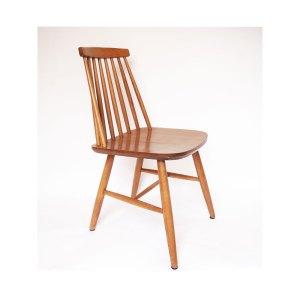 6 chaises vintage scandinave à barreaux #681