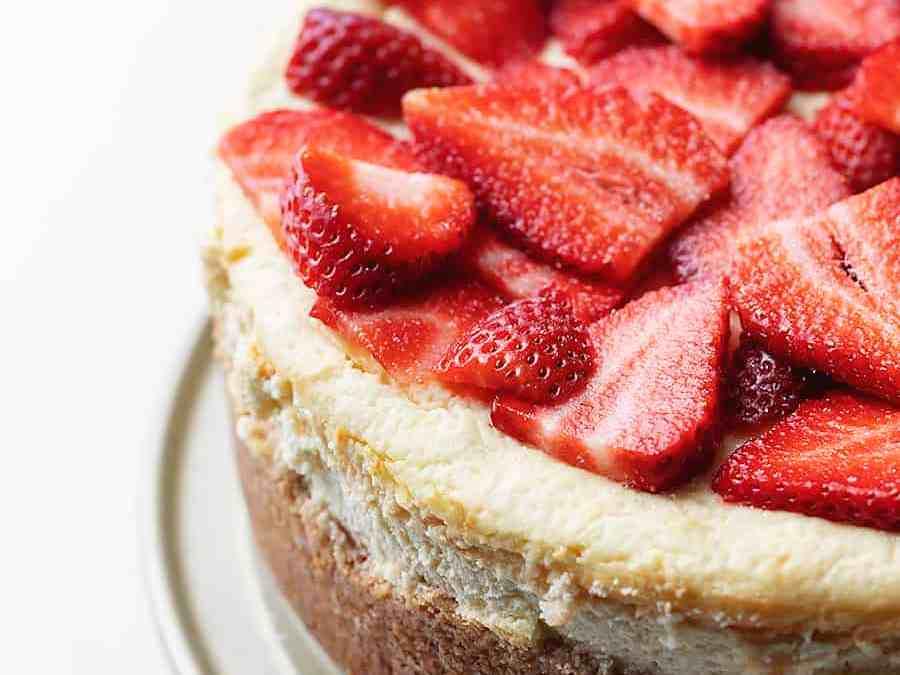 Den bedste keto cheesecake