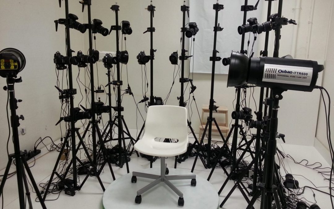 3D Scanning Photogrammetry Array