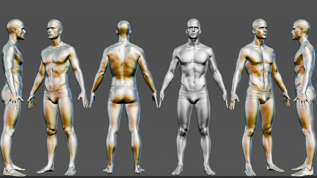 3d body scans