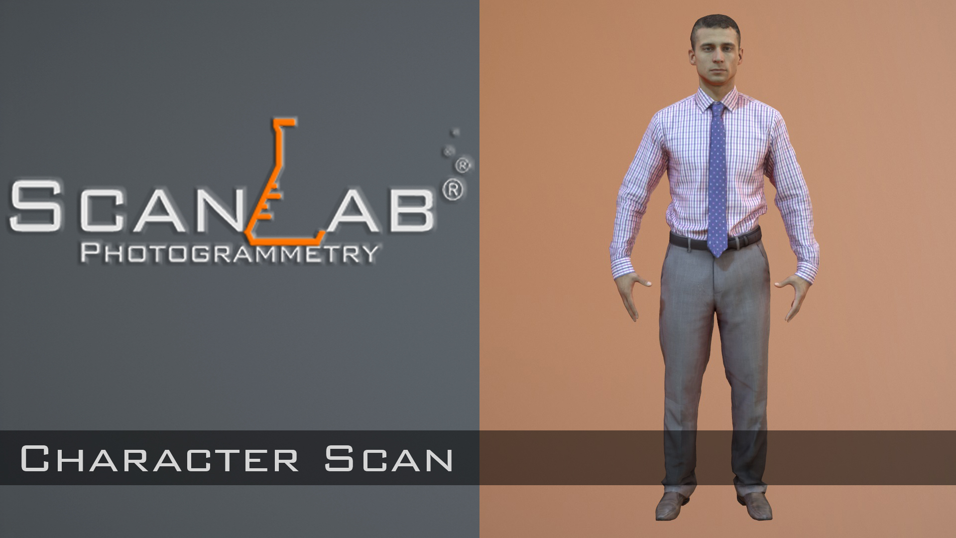 3D Scan of Dmitry Sorokin