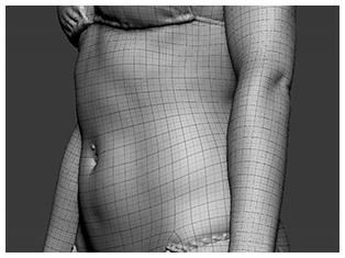 3D Scan Retopology