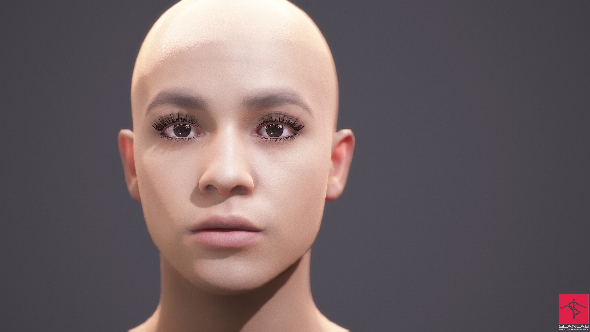 April's 3D Scan for Facial Animation