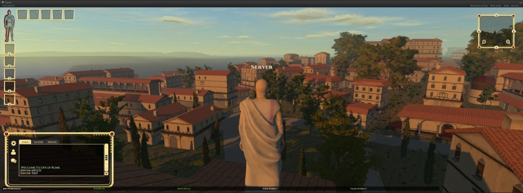 Life of Rome using one of our 3D Scans inside their Game.