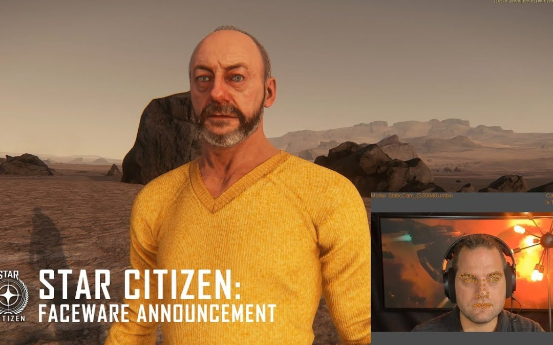 Star Citizen now does Facial Capture!