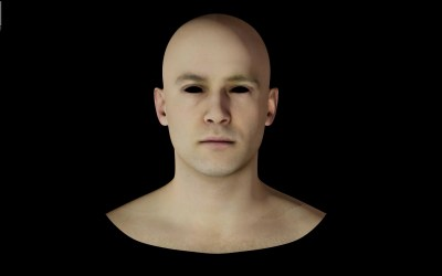 Generating Face Color Textures with AI
