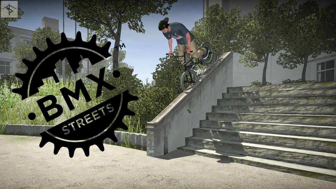 Pipe with BMX Streets