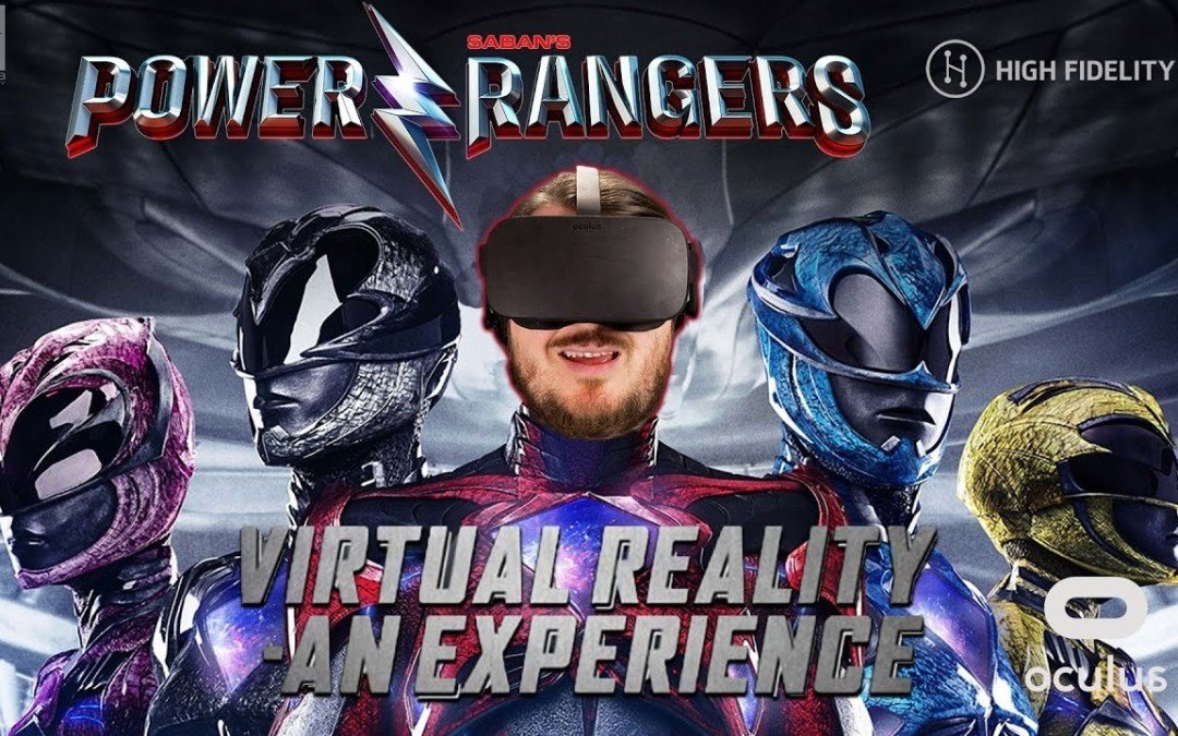 PowerRangersVR with Lionsgate Entertainment