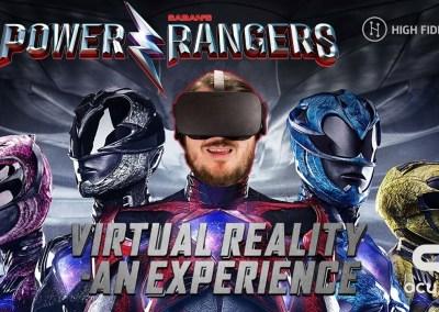PowerRangersVR with Lionsgate Entertainment