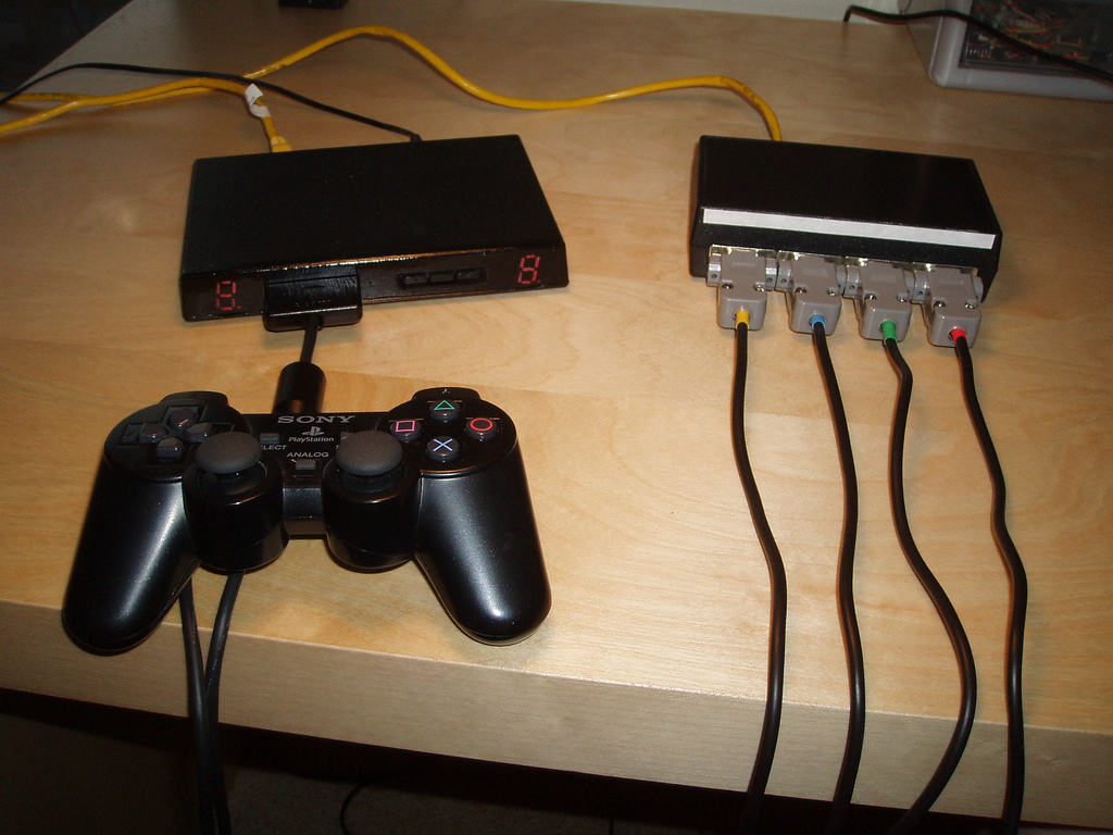 hight resolution of playstation 2 dual shock protocol revisited