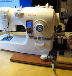 diy sewing machine retrofit [ 1024 x 768 Pixel ]