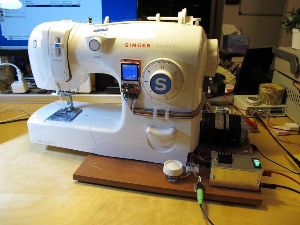 medium resolution of diy sewing machine retrofit
