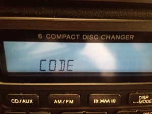 Acura Factory Radio Code Reset  Error  Scanlon Acura Of
