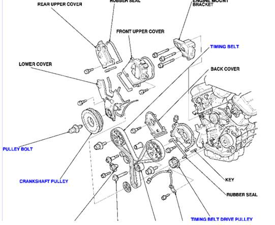 Acura Cl 3 2 Fuel Relay, Acura, Free Engine Image For User