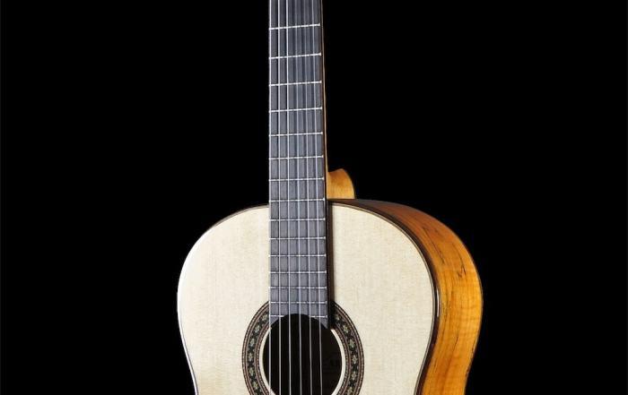 Gitarre in 360 Grad