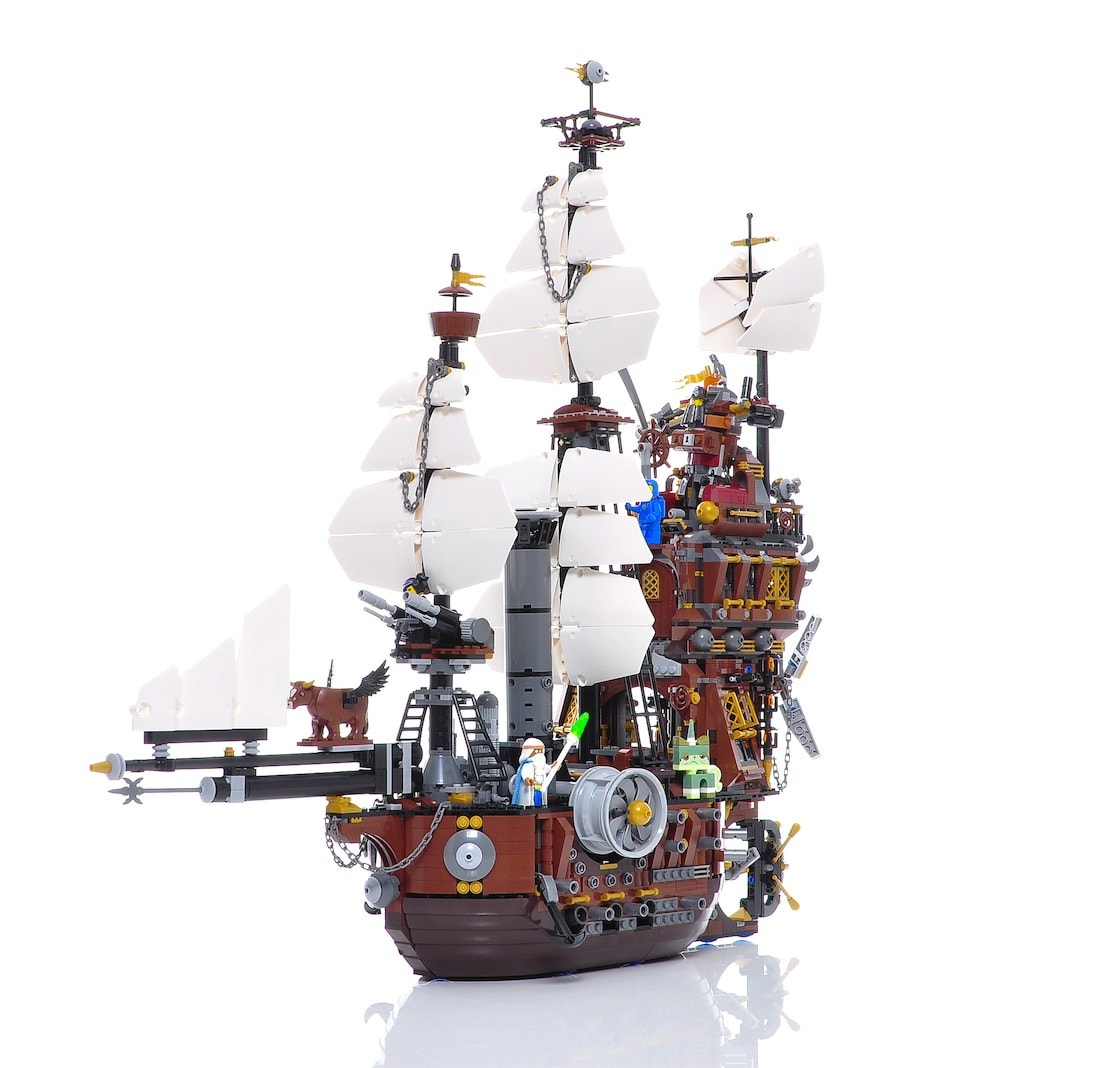 Lego Movie Schiff in 360 Grad