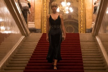 Red Sparrow Scannain Review