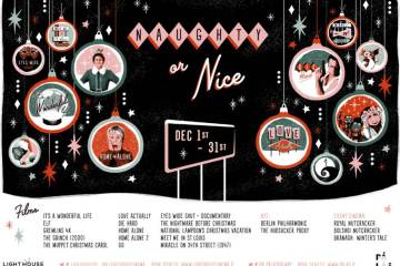 "Light House Dublin and Pálás Galway announce ""Naughty Or Nice"" line-up of festive treats"