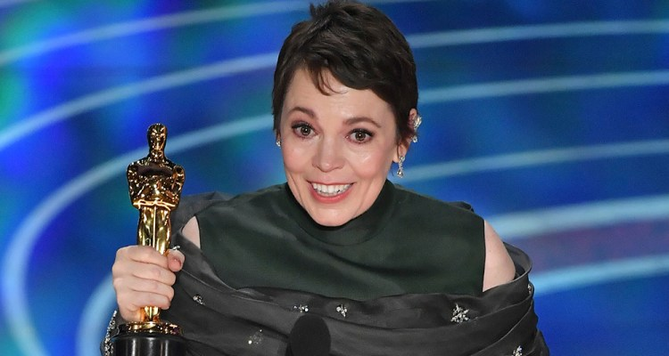 Olivia Colman wins Best Actress at the 91st Academy Awards for The Favourite