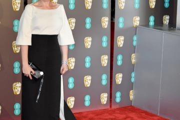 Olivia Colman at the 2019 EE BAFTA Awards