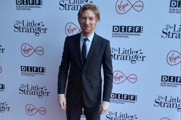 Domhnall Gleeson at the European Premiere of The Little Stranger in Light House Cinema