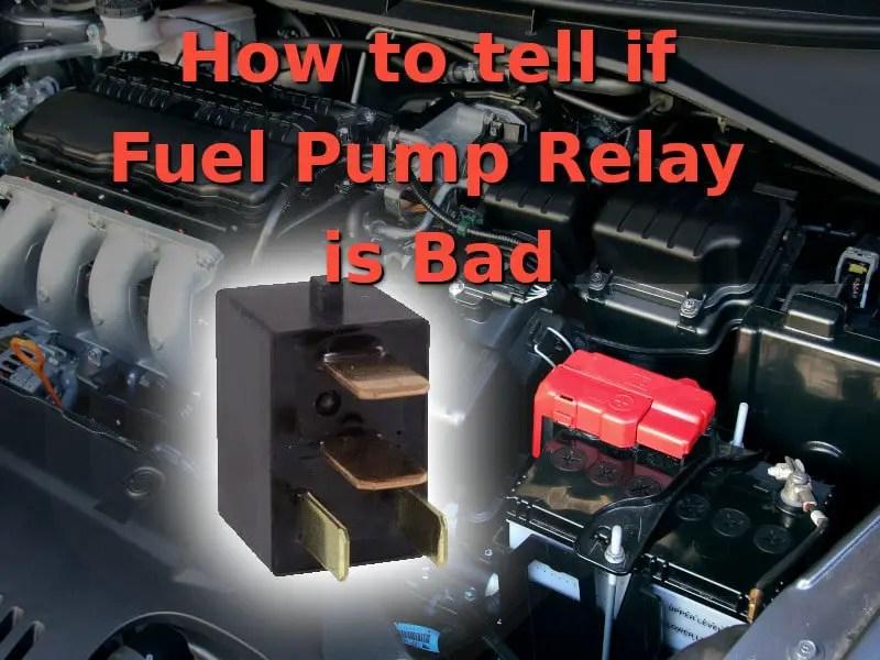 Relay Fuel Pump Gen2