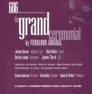 The Grand Ceremonial by Fernando Arrabal