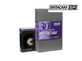 Betacam SP tape transfer