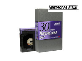 Betacam SP tape transfer