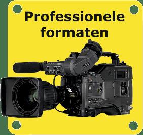 Professionele videoformaten digitaliseren