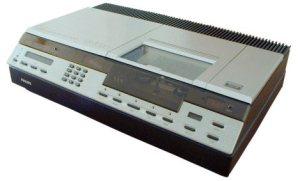 video 2000 recorder philips