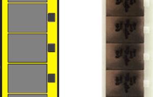 Super 8 smalfilm en Single 8 smalfilm voorbeeld