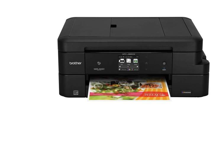 Brother MFC J985DW Cost Effective Color Printer For College Students 2021
