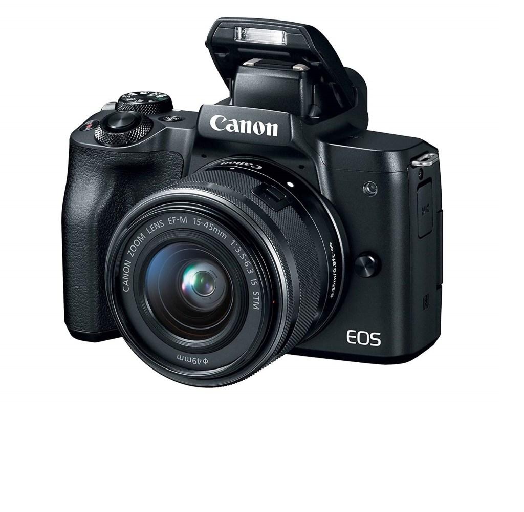 Canon EOS M50 vlogging camera cheap