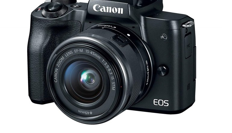 Canon EOS M50 vlogging camera cheap