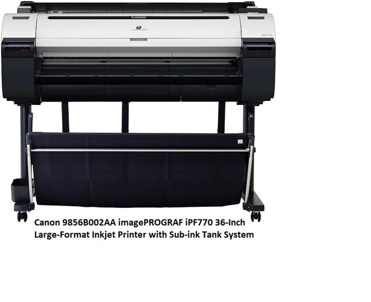 Canon imagePROGRAF iPF770 36 inch inkjet Large Format Printing Machine