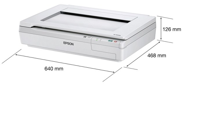 Epson WorkForce DS 50000 Good Large Format Scanner Flatbed Document