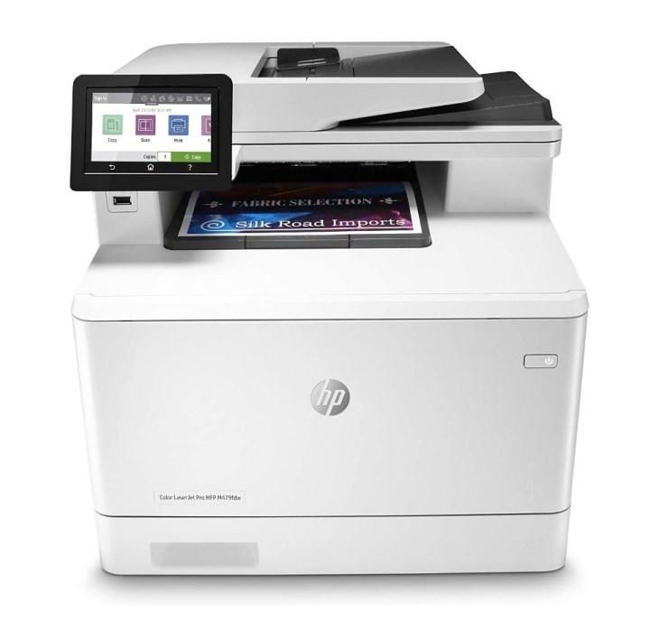 HP Color LaserJet Pro MFP M479fdw – Best Overall Color Laser Printer 2020