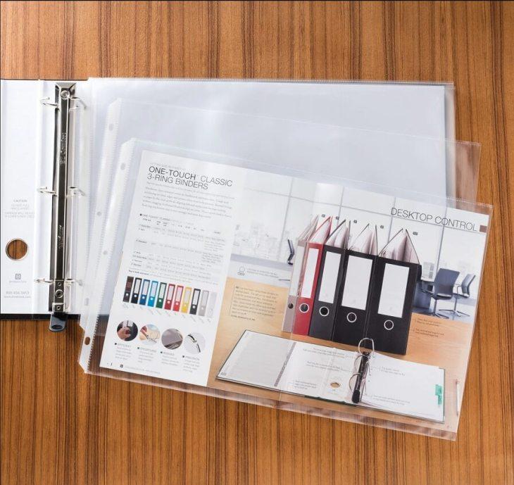 11x17 sheet protectors For Folders